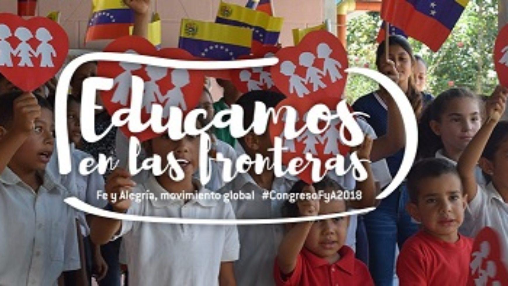 """Acogemos a los participantes del XLVII Congreso de la Federación Internacional de """"Fe y Alegría"""""""